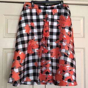 LANE BRYANT Size 20 Full Skirt. Flowers NWT